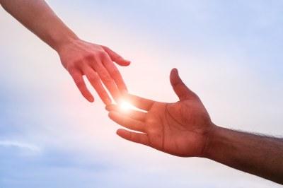 Take the hand of tomorrow
